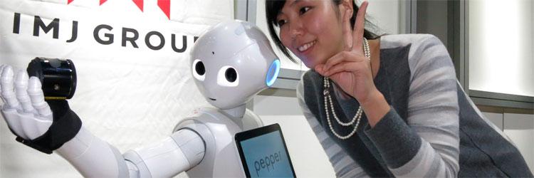 Pepper: el robot que reacciona ante la emoción humana